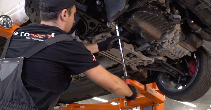 Hvordan man fjerner VW GOLF 1.4 2007 Bærearm - nem at følge online instruktioner