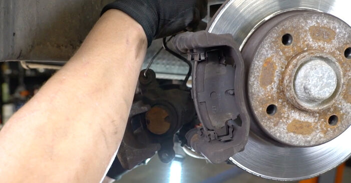 Replacing Brake Discs on PEUGEOT 207 (WA_, WC_) 2006 1.4 HDi by yourself