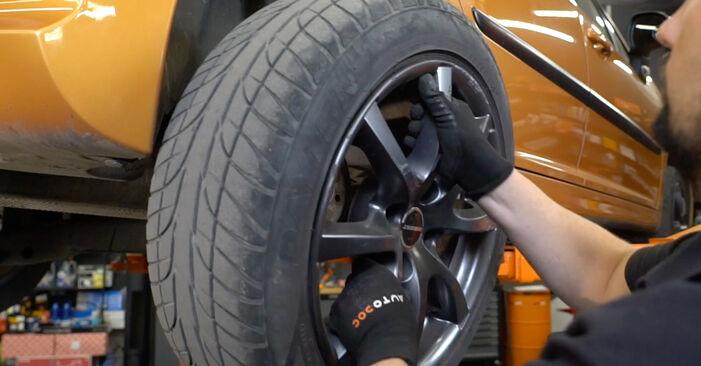 Wie PEUGEOT 207 1.6 16V VTi 2010 Bremsscheiben ausbauen - Einfach zu verstehende Anleitungen online