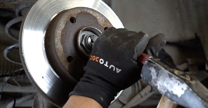 DIY replacement of Wheel Bearing on PEUGEOT 207 (WA_, WC_) 1.4 2010 is not an issue anymore with our step-by-step tutorial