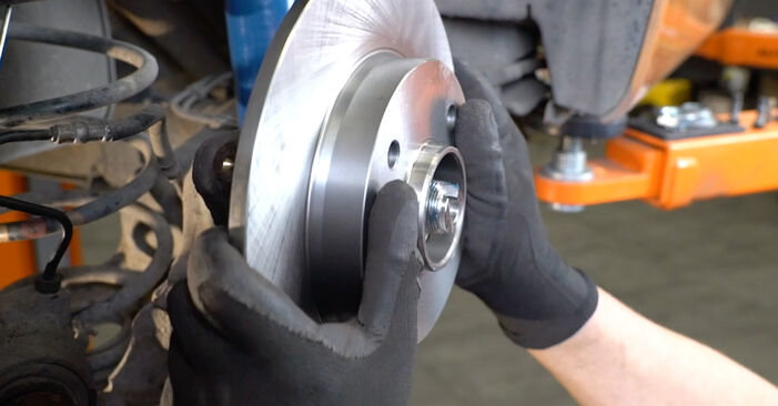 How to replace Wheel Bearing on PEUGEOT 207 (WA_, WC_) 2011: download PDF manuals and video instructions