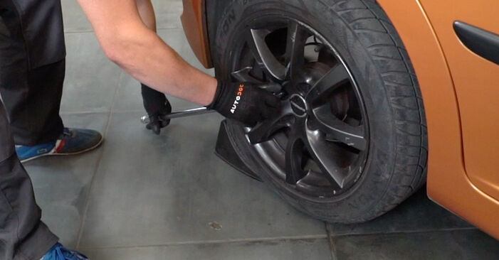 How to replace PEUGEOT 207 (WA_, WC_) 1.4 HDi 2007 Wheel Bearing - step-by-step manuals and video guides