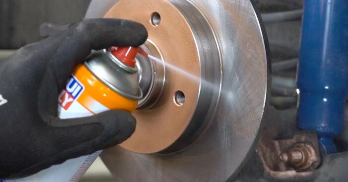 PEUGEOT 207 (WA_, WC_) 1.6 HDi 2008 Wheel Bearing replacement: free workshop manuals