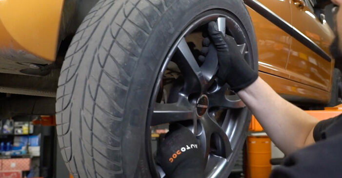 How to remove PEUGEOT 207 1.6 16V VTi 2010 Wheel Bearing - online easy-to-follow instructions