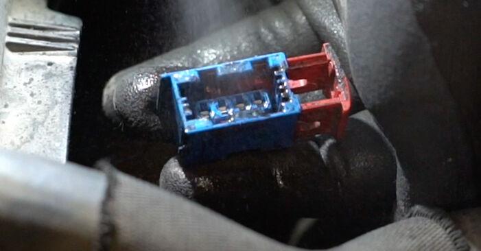 207 (WA_, WC_) 1.6 16V VTi 2007 Lambdasonde gør-det-selv udskiftnings værksted manual