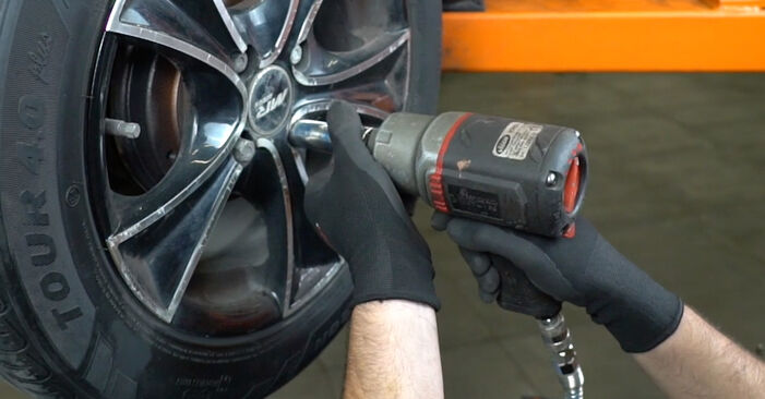 FIAT PANDA 1.2 Brake Drum replacement: online guides and video tutorials
