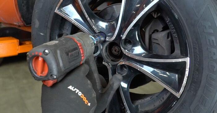PANDA (169) 1.2 4x4 2014 Wheel Bearing DIY replacement workshop manual