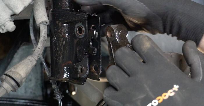 Changing Wheel Bearing on FIAT PANDA (169) 1.3 D Multijet 4x4 2006 by yourself