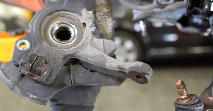 FIAT PANDA 1.2 4x4 2007 Kerékcsapágy eltávolítás - online könnyen követhető utasítások