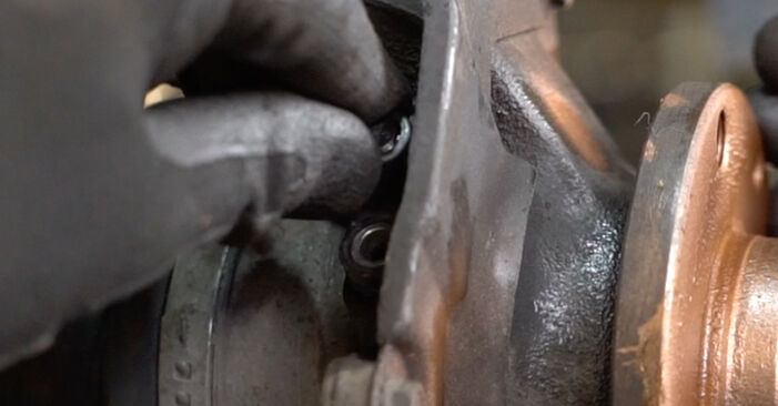 How to remove FIAT PANDA 1.2 4x4 2007 Wheel Bearing - online easy-to-follow instructions