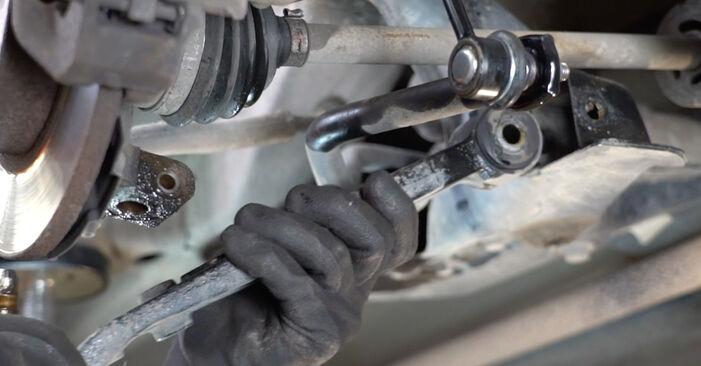 PANDA (169) 1.2 4x4 2014 Bras de Suspension manuel d'atelier pour remplacer soi-même