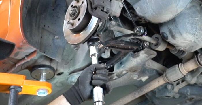 Comment changer Bras de Suspension sur Fiat Panda 169 2003 - Manuels PDF et vidéo gratuits