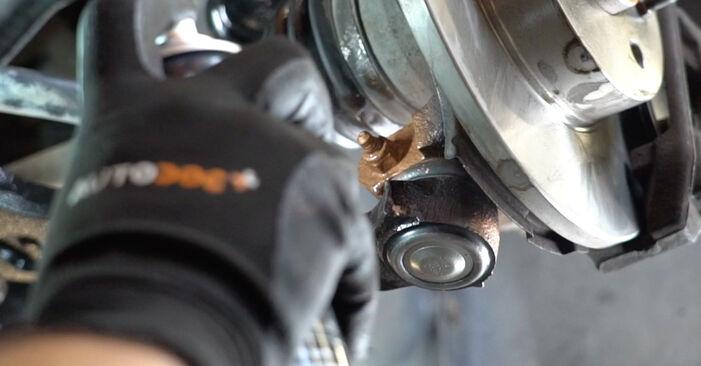 Combien de temps dure le remplacement : Bras de Suspension sur Fiat Panda 169 2011 - manuel PDF informatif