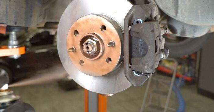 FIAT PANDA 1.2 Bras de Suspension remplacement: guides en ligne et tutoriels vidéo
