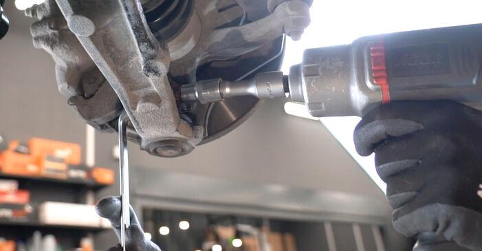 À quel point est-il difficile de le faire soi-même : télécharger le guide illustré pour le changement de Bras de Suspension sur Fiat Panda 169 1.4 2009