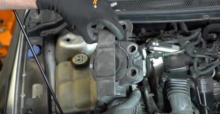 FORD FOCUS 1.8 TDCi Motorlager ausbauen: Anweisungen und Video-Tutorials online