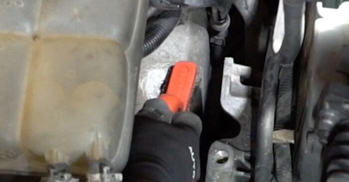 Tauschen Sie Motorlager beim Ford Focus mk2 Limousine 2003 1.6 TDCi selber aus