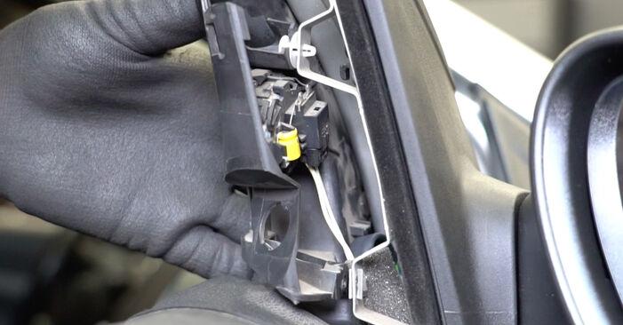 Lusterko zewnętrzne w FORD Focus II Sedan (DB_, FCH, DH) 1.6 2009 samodzielna wymiana - poradnik online