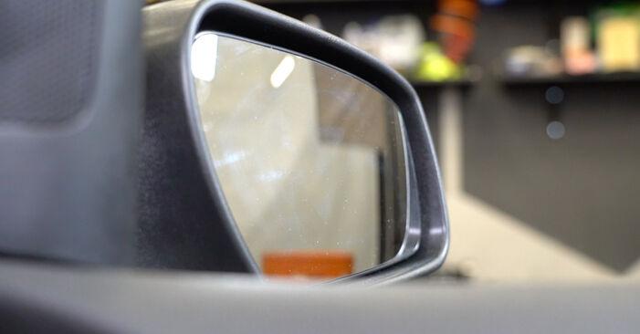 Wymień samodzielnie Lusterko zewnętrzne w FORD Focus II Sedan (DB_, FCH, DH) 2.0 TDCi 2007