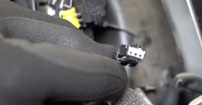 Jak trudno jest to zrobić samemu: wymień Lusterko zewnętrzne w Ford Focus mk2 Sedan 1.4 2010 - pobierz ilustrowany przewodnik