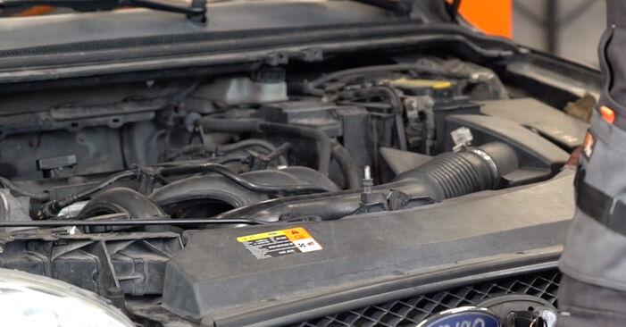 Jak vyměnit Brzdové Destičky na Ford Focus mk2 Sedan 2004 - bezplatné PDF a video návody
