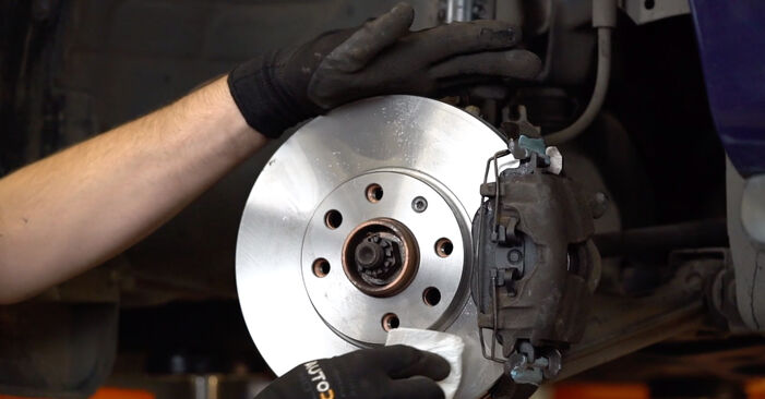 How to change Brake Discs on OPEL Astra G CC (T98) 1998 - tips and tricks