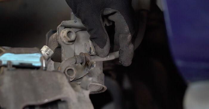 Колко време отнема смяната: Спирачни Накладки на Opel Astra g f48 2006 - информативен PDF наръчник
