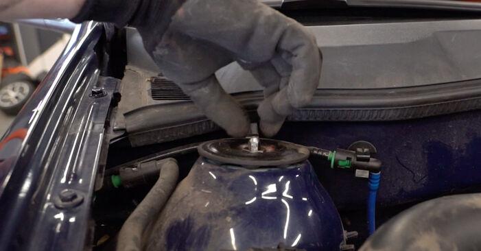 Byt Fjäderbenslagring på Opel Astra g f48 2008 1.6 16V (F08, F48) på egen hand