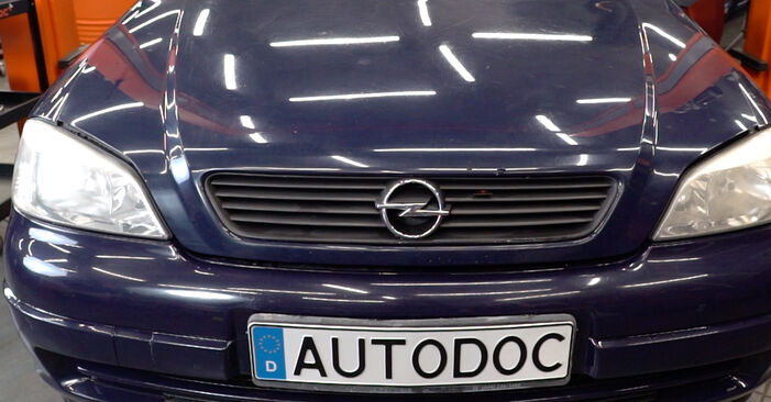 Udskiftning af Tårnleje på Opel Astra g f48 2008 1.6 16V (F08, F48) ved gør-det-selv indsats
