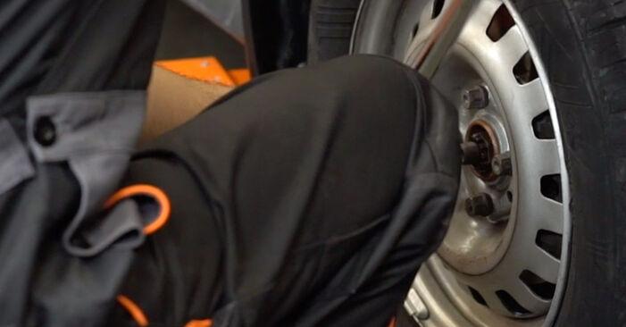 Tausch Tutorial Bremsschläuche am OPEL Astra G CC (T98) 1998 wechselt - Tipps und Tricks