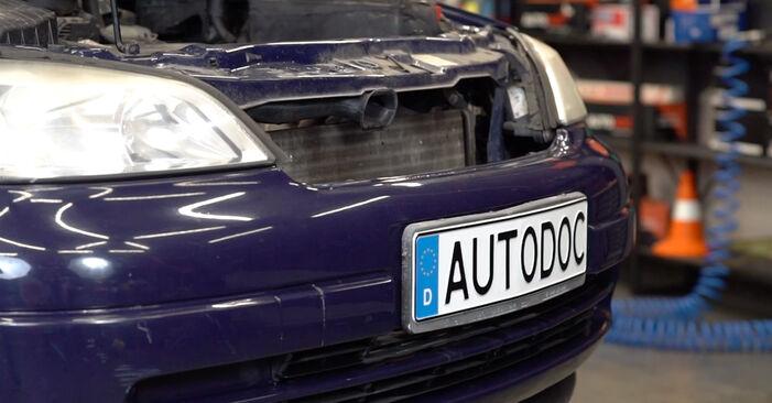 Wechseln Bremsschläuche am OPEL Astra G CC (T98) 2.0 DTI 16V (F08, F48) 2001 selber