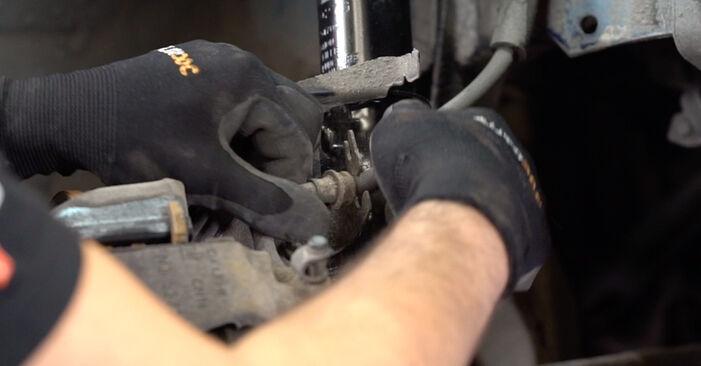 Bremsschläuche Ihres Opel Astra g f48 1.6 16V (F08, F48) 2006 selbst Wechsel - Gratis Tutorial
