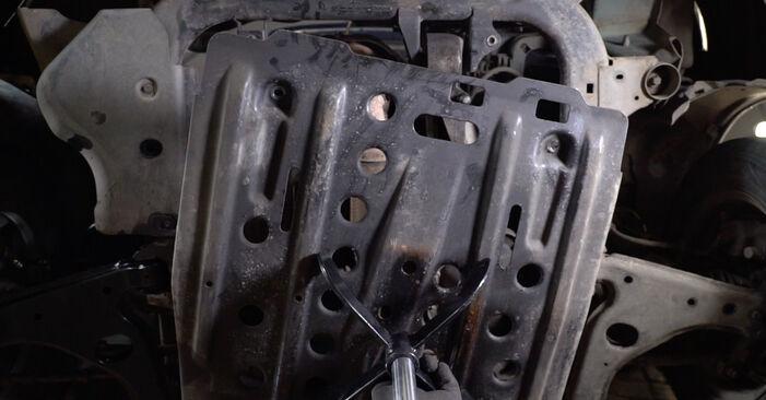 Tausch Tutorial Motorlager am OPEL Astra G CC (T98) 1998 wechselt - Tipps und Tricks