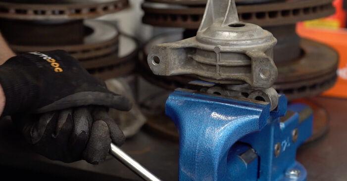 Motorlager Opel Astra g f48 1.4 16V (F08, F48) 2000 wechseln: Kostenlose Reparaturhandbücher
