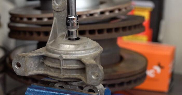 Wechseln Motorlager am OPEL Astra G CC (T98) 2.0 DTI 16V (F08, F48) 2001 selber