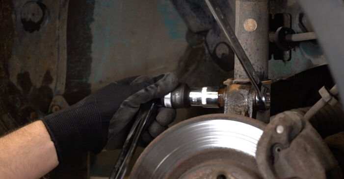 RENAULT KANGOO D 65 1.9 Strut Mount replacement: online guides and video tutorials