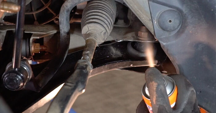 How to change Control Arm on RENAULT MEGANE II Saloon (LM0/1_) 2001 - free PDF and video manuals