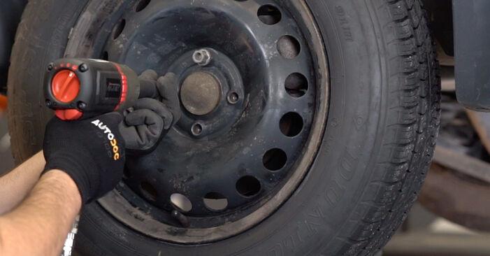 Wie RENAULT MEGANE 1.4 2005 Bremsscheiben ausbauen - Einfach zu verstehende Anleitungen online