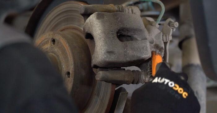Bremsscheiben beim RENAULT MEGANE 1.5 dCi (LM1F) 2008 selber erneuern - DIY-Manual