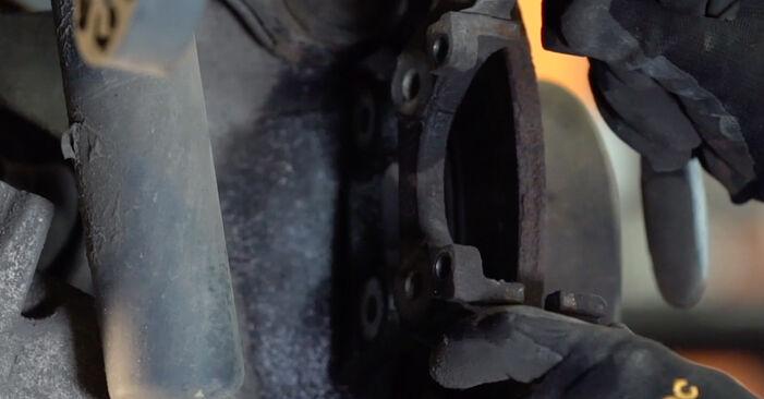 Cómo reemplazar Discos de Freno en un BMW X5 (E53) 3.0 d 2001 - manuales paso a paso y guías en video