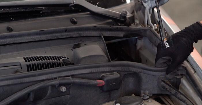 Wie man BMW X5 (E53) 3.0 d 2001 Bremsbeläge austauscht - Schritt-für-Schritt-Tutorials und Videoanleitungen