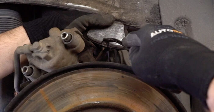 How to change Brake Pads on BMW E53 2000 - free PDF and video manuals