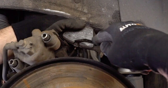 How to replace Brake Pads on BMW X5 (E53) 2005: download PDF manuals and video instructions