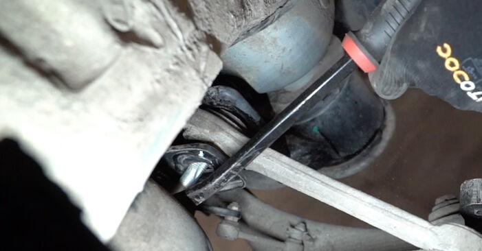 Schimbare Brat Suspensie la BMW E53 2002 3.0 d de unul singur