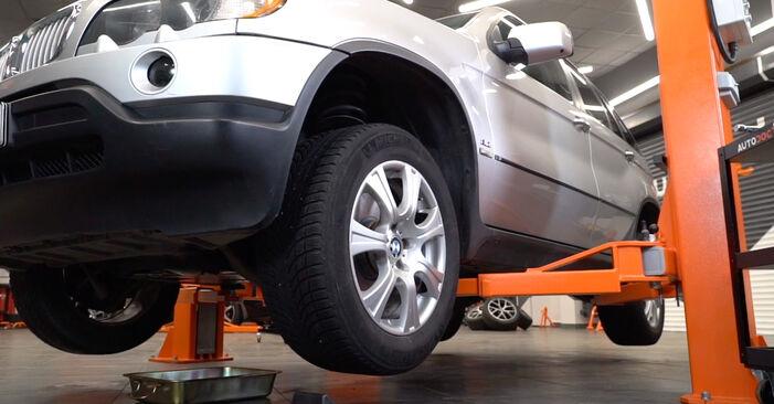 Querlenker BMW E53 4.4 i 2002 wechseln: Kostenlose Reparaturhandbücher