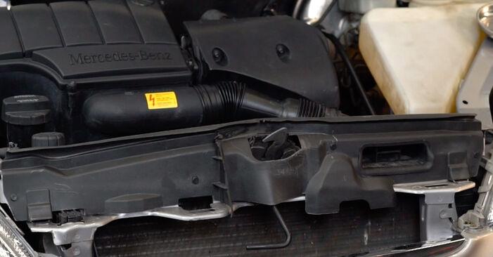 Kiek užtrunka keitimas: Mercedes W168 1997 Uždegimo ritė - informatyvi PDF instrukcija