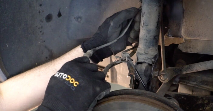 Changing of Brake Hose on Mercedes W168 1997 won't be an issue if you follow this illustrated step-by-step guide