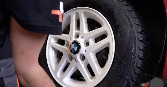 Wie man Bremsscheiben am BMW 3 Cabrio (E46) 2003 wechselt – Laden Sie sich PDF-Wegleitungen und Videoanweisungen herunter