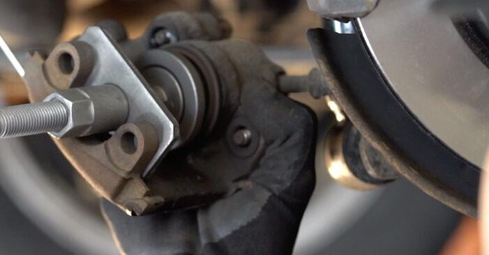 Jak wymienić Tarcza hamulcowa w BMW 3 Cabrio (E46) 2002 - wskazówki i porady