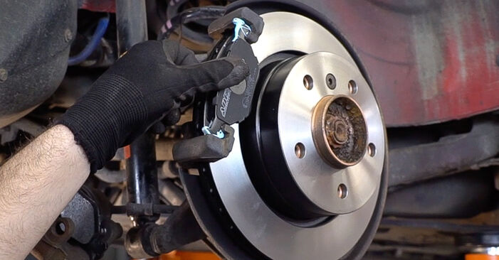 How to replace BMW 3 Convertible (E46) 330Ci 3.0 1999 Brake Pads - step-by-step manuals and video guides